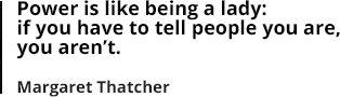 Margareth Tatcher